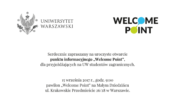 welcome point