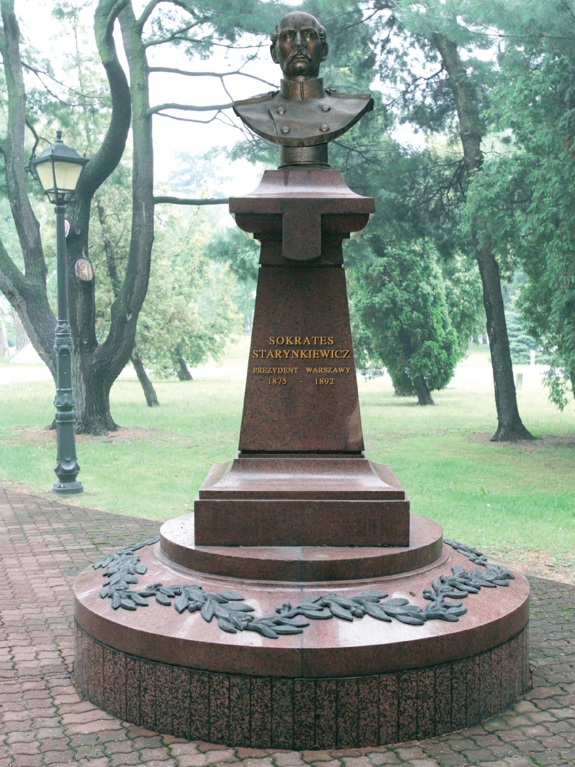 pomnik Starynkiewicza